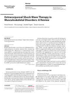 ESWT in Musculoskeletal Disorders: A Review